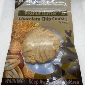 Peanut Butter Chocolate Chip Cookie (50mg)