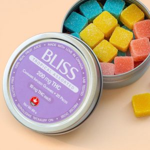 Bliss Assorted Tropical Gummies 200mg