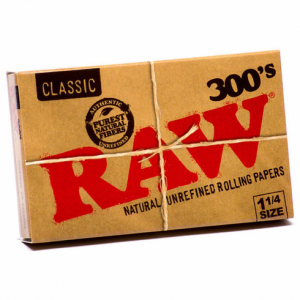 Raw Classic Rolling Papers 1/4 (300pk)