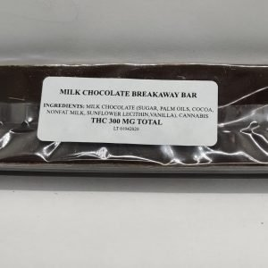 Milk Chocolate Breakaway Bar (300mg)