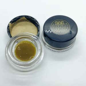 Pink Kush cold cure rosin