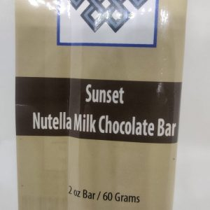 Gourmet Milk Chocolate & Hazelnut Bar by Sunset