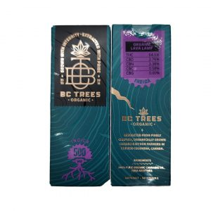 Indica 0.5ml vape cart by BC Trees
